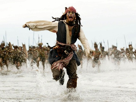 Capt. Jack Sparrow. Image courtesy Disney