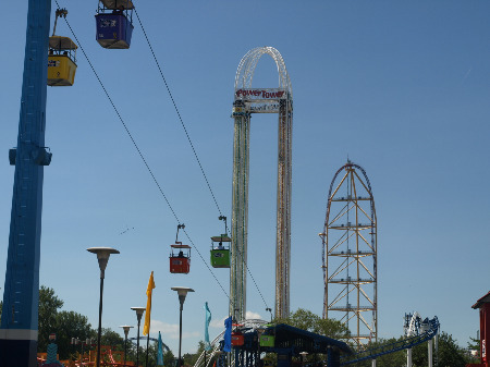 The Main Midway at Cedar Point
