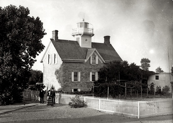 old pic of Lighthouse