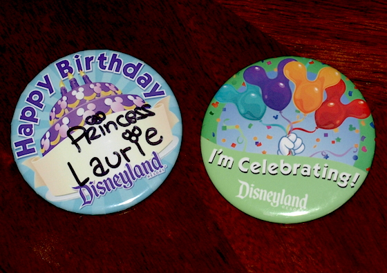 Celebrating buttons