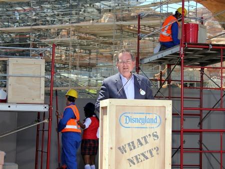 Disneyland President George Kalogridis