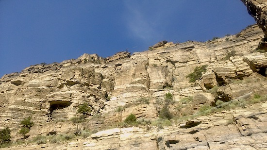 Glenwood Canyon scenery