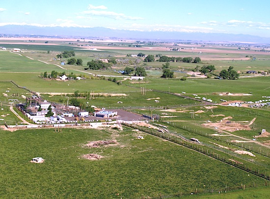 aerial pic of TWAS