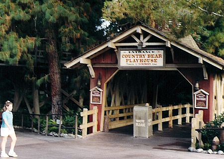 The Country Bear Playhouse at Disneyland