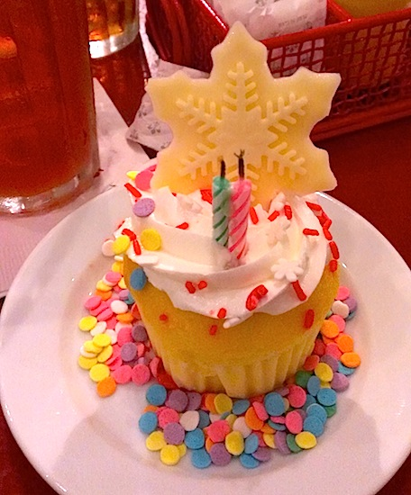 Cupcake from Chef Mickey's