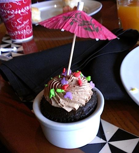 Cupcake from Ohana