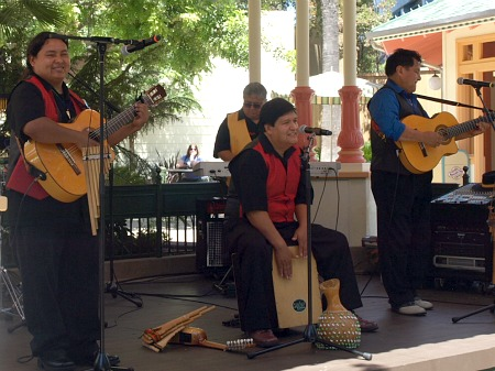 Rumba y Cajon perform at DCA