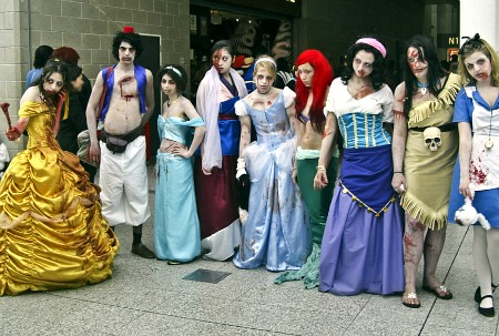 Disney zombie princes and princesses