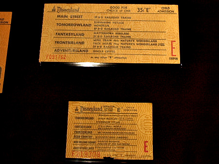 Disneyland E Tickets