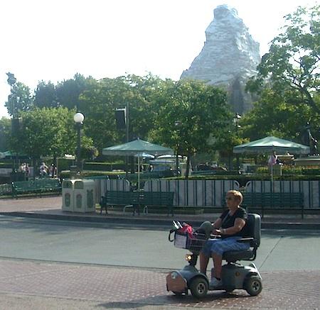 ECV at Disneyland