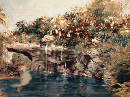 Concept art of Disney's Jungle Cruise