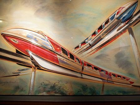 Disneyland monorails
