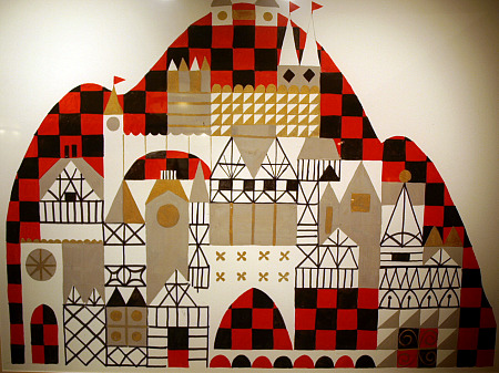 Mary Blair's design of It's a Small World