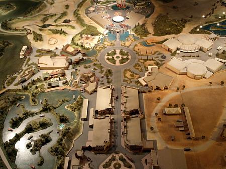 Model of Disneyland