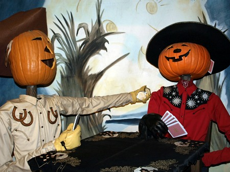 Pumpkin cowboys