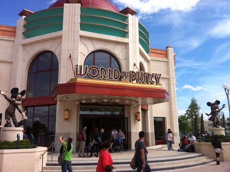 Paris' new World of Disney store