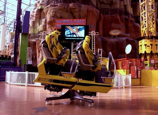 El Loco coaster car