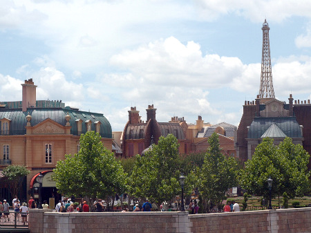 The French pavilion at Epcot