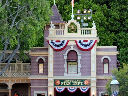 Disneyland fire station