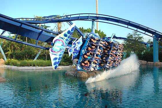 Manta, in flight