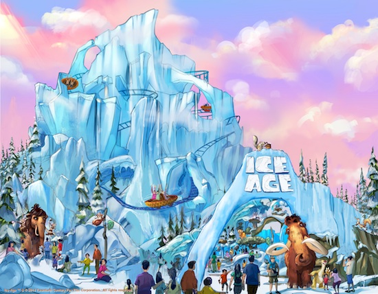 Ice Age ride