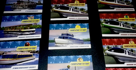 Disney transportation cards
