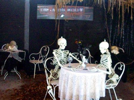 Skeleton dinner