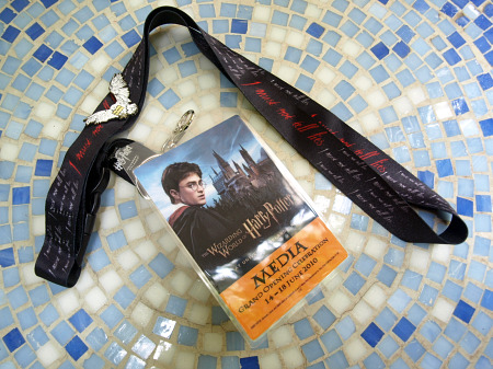 Harry Potter Grand Opening Media Credential