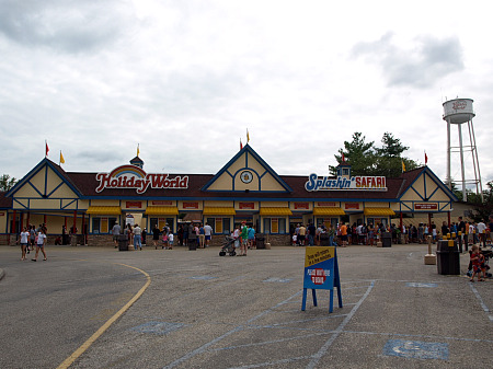 Holiday World entrance