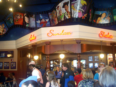 Inside Disney's Soda Fountain and Studio Store