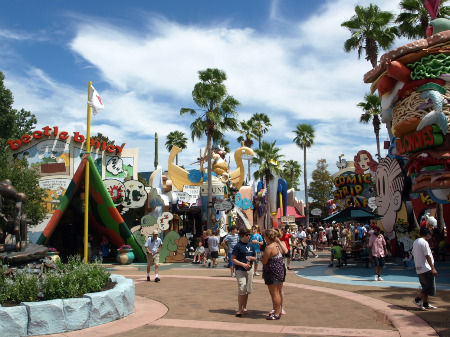 Toon Lagoon at Universal's Islands of Adventure