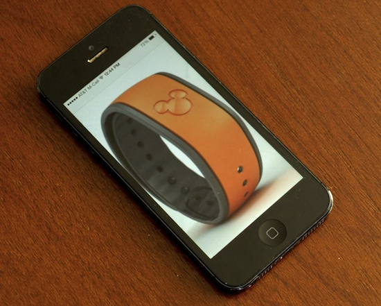 iPhone or MagicBand?