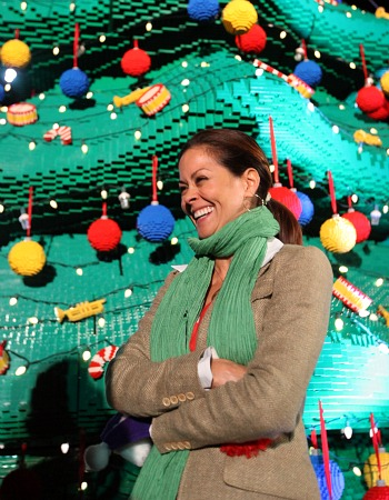 Brooke Burke at Legoland California