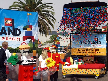 Legoland Hotel accouncement