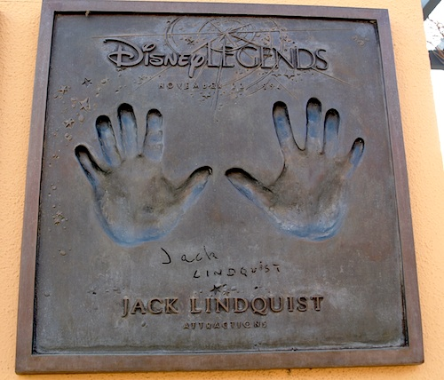 Disney Legend plaque