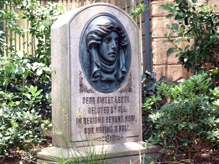 Madame Leota's grave
