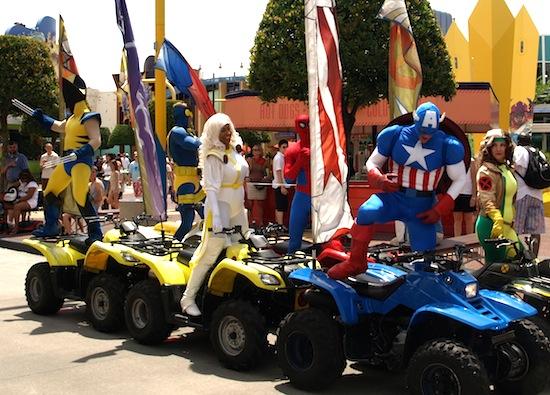 Universal's Marvel caravan
