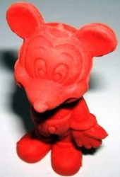 Mickey Mouse eraser
