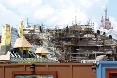 Be our Guest restaurant construction
