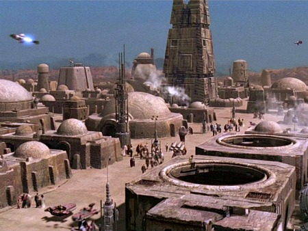 Mos Eisley spaceport, from Star Wars