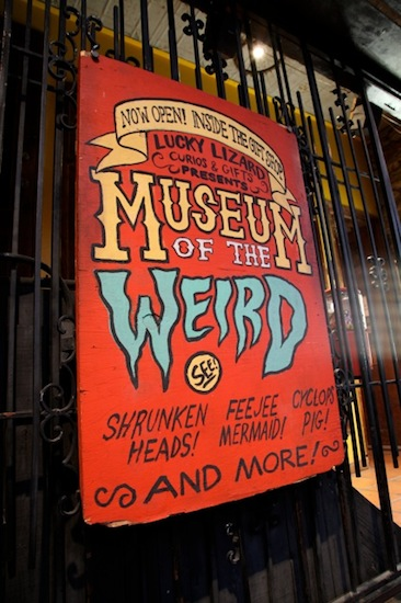 Museum of the Weird entrance