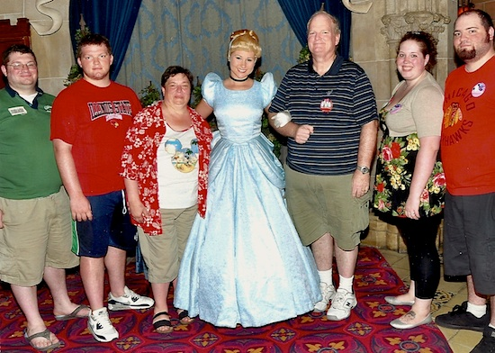 At Cinderella's Royal Table