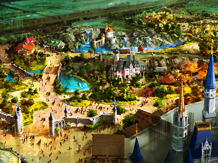 New Fantasyland at WDW's MK
