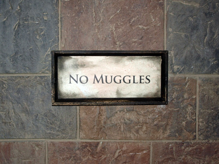 No Muggles