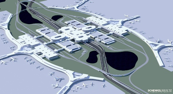 Proposed south terminal