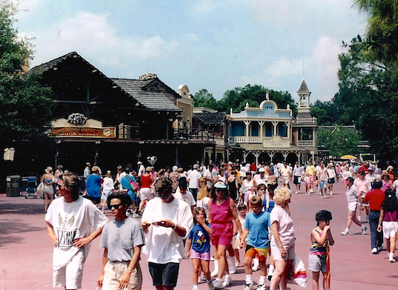 Disney World's Frontierland