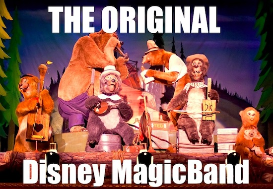 The original Disney MagicBand
