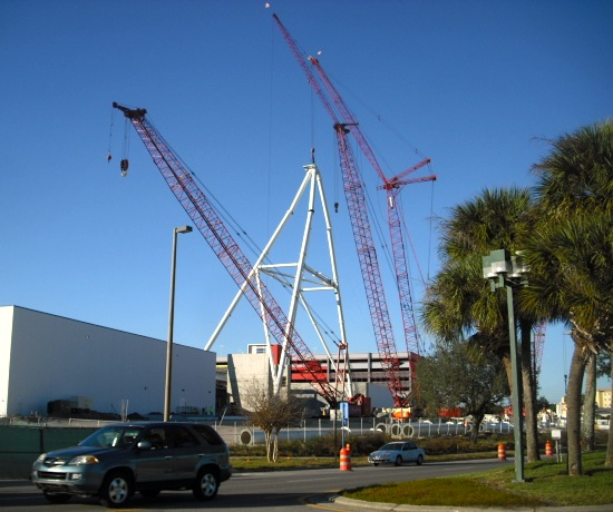 Orlando Eye construction