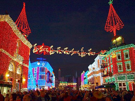 Osborne Family Christmas Lights at Disney's Hollywood Studios