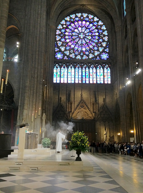 Mass in Notre Dame